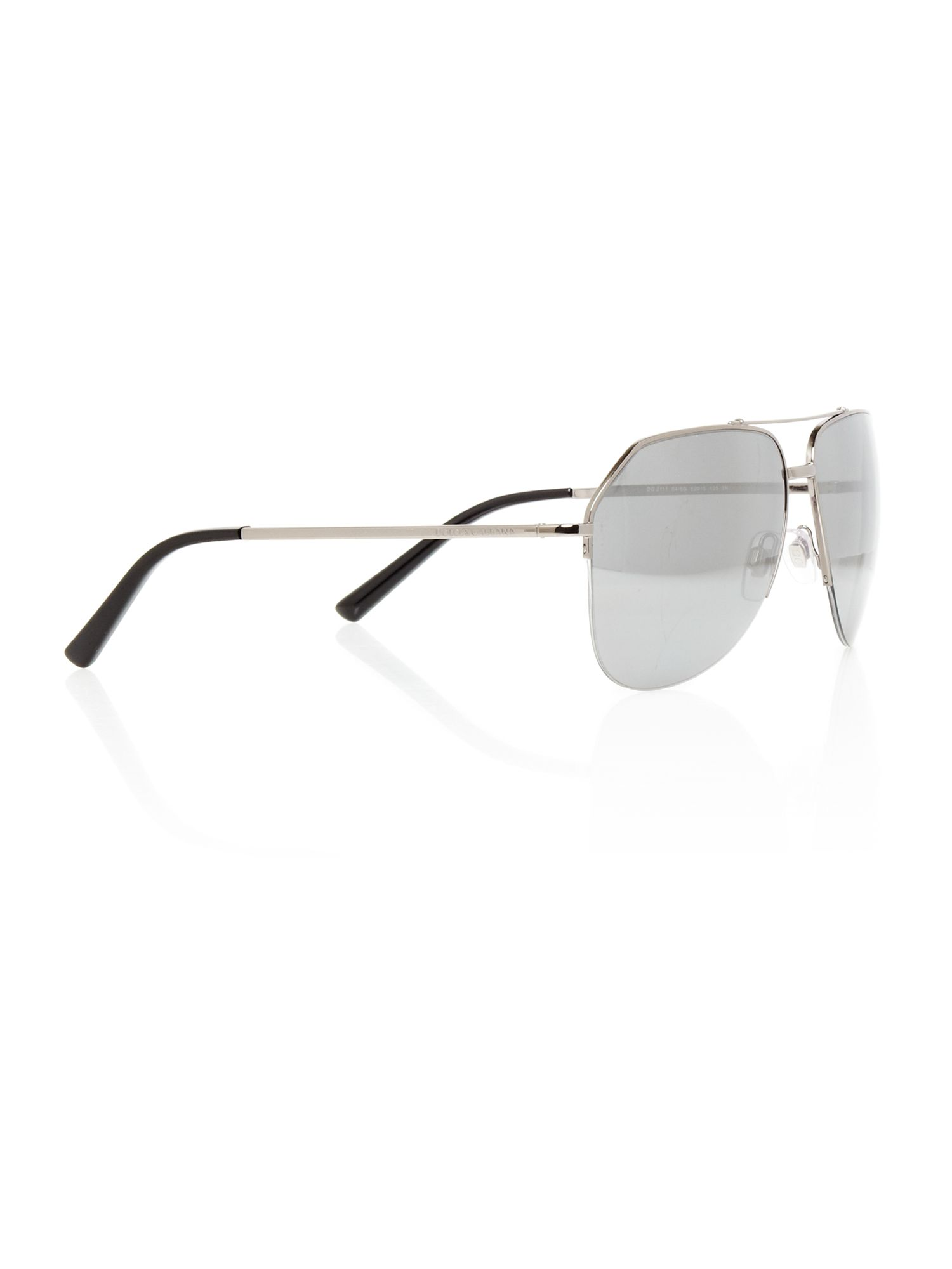 Mens DG2111 Iconic Evolution Gunmetal Sunglasses