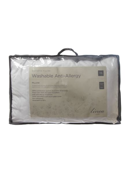 Linea Washable Anti Allergy medium pillow