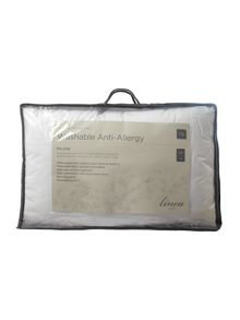 Linea Washable Anti Allergy firm pillow