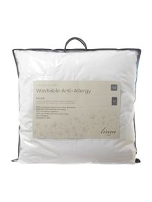 Linea Washable Anti Allergy square pillow