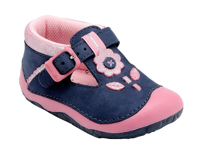Girl`s maisy new navy pre-walker shoes