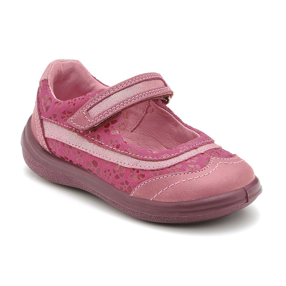 Girl`s wisp pink first walker shoes