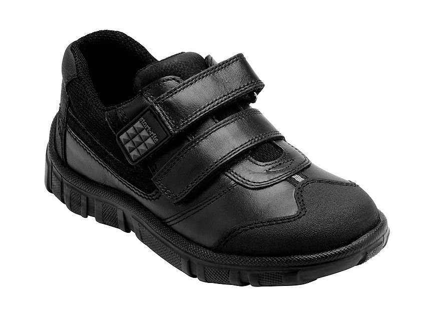Boy`s hover black school shoes