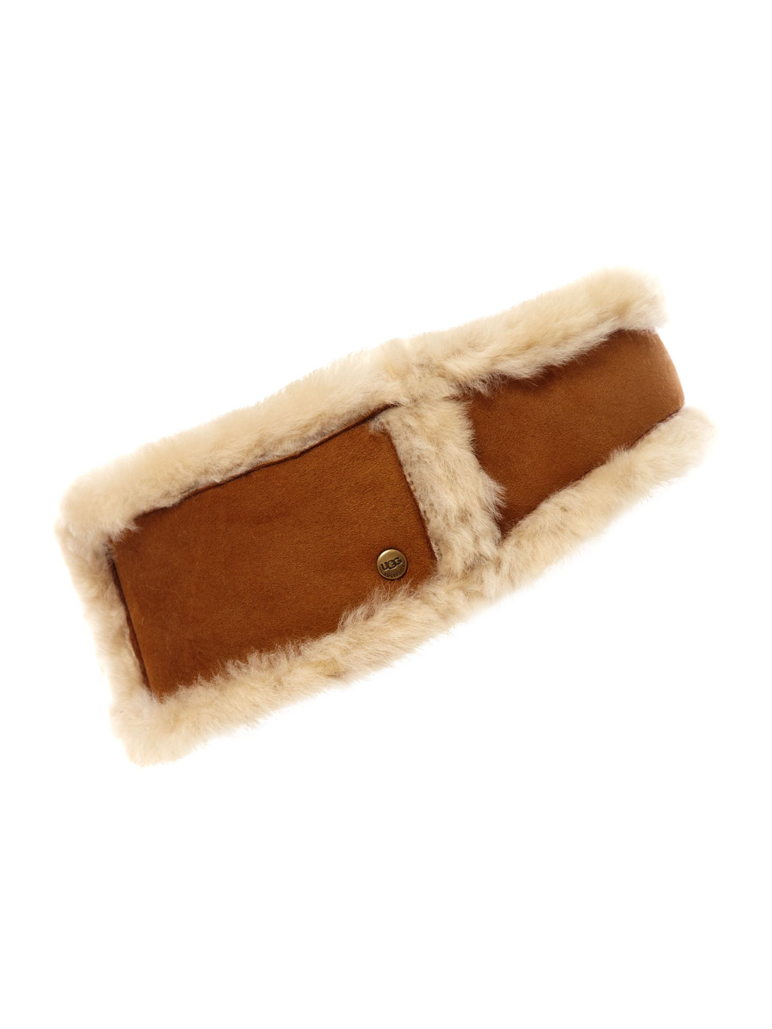 Shearling headband