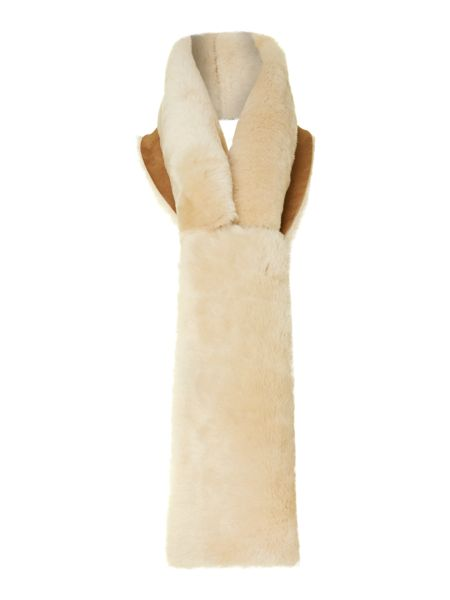 UGG Classic shearling pull through scarf
