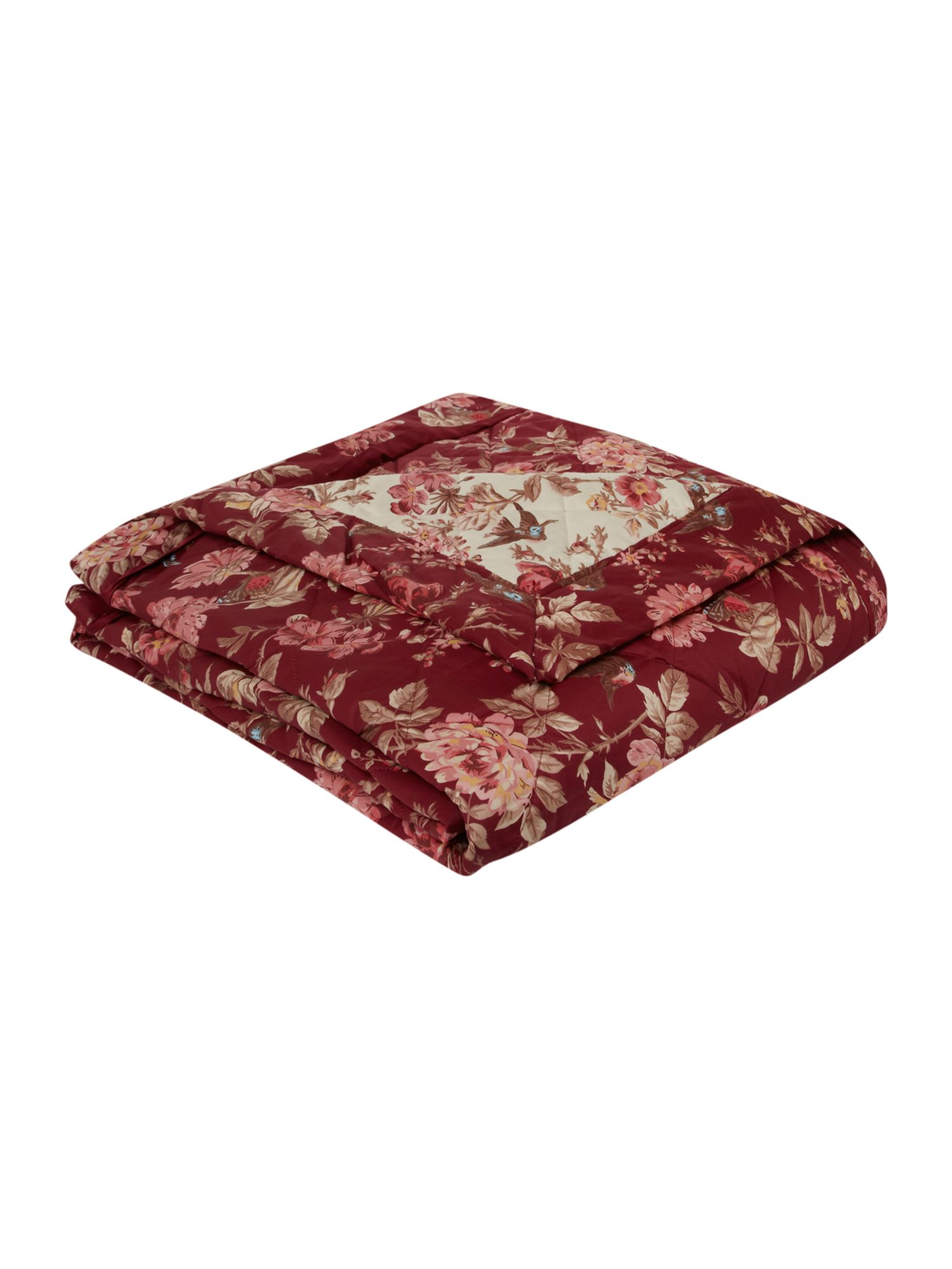 Tea Rose bedspread