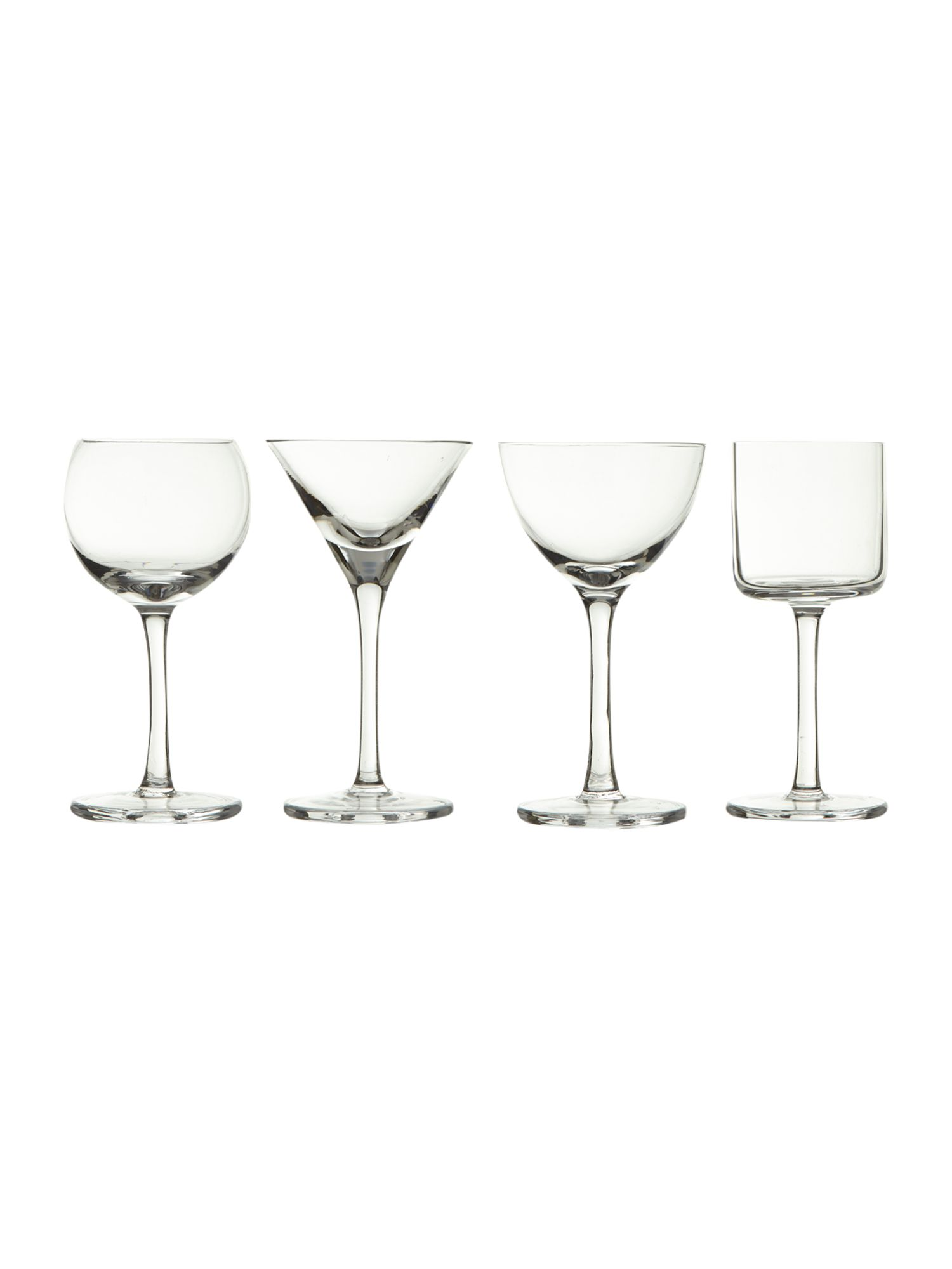 Lulu liquer glass set of 4