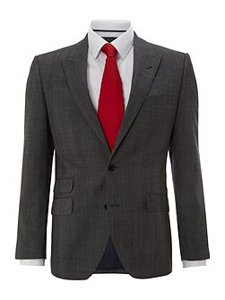 Montague peak suit jacket with ticket pocket