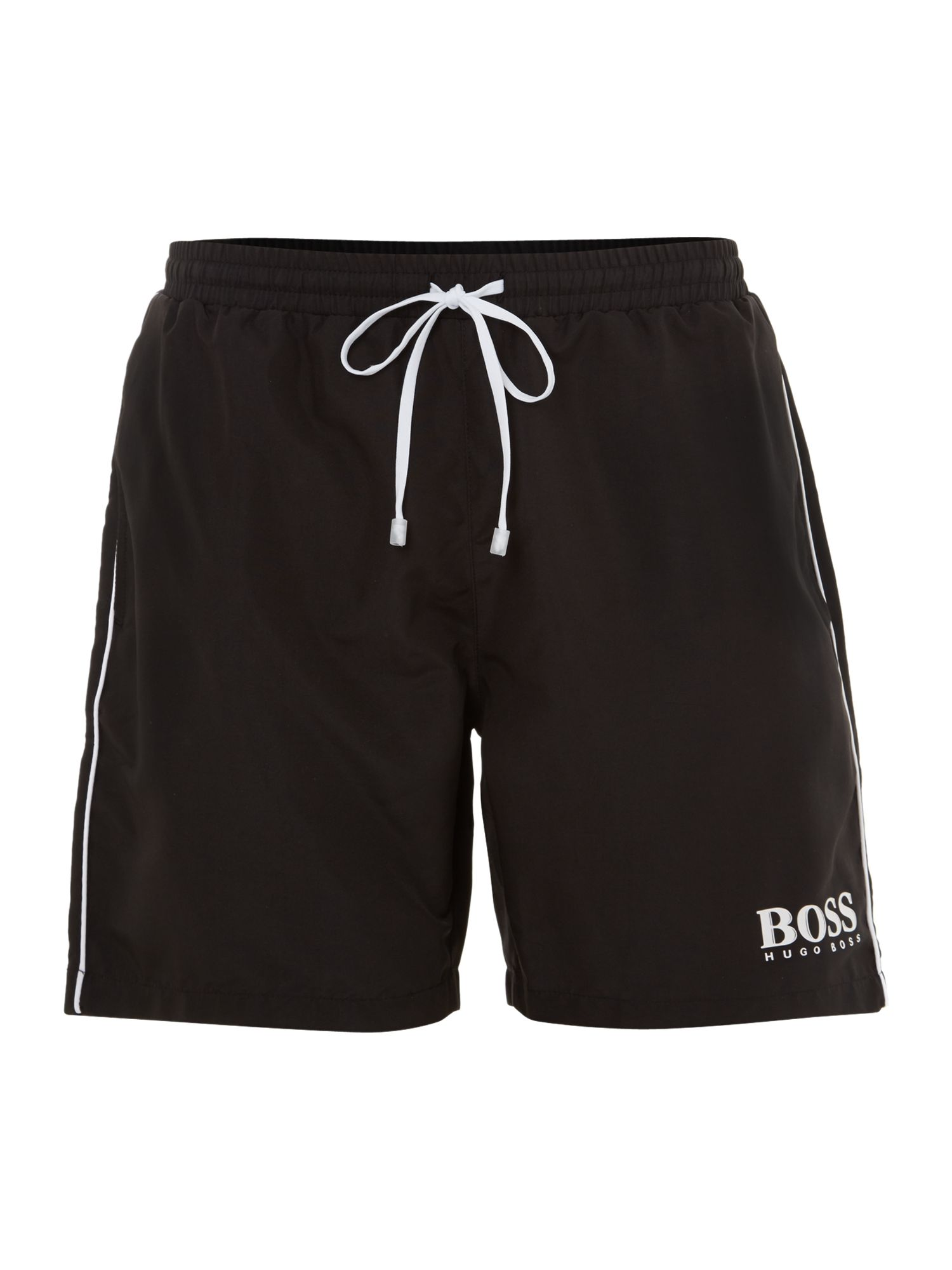Men's Hugo Boss Classic swim shorts, Black