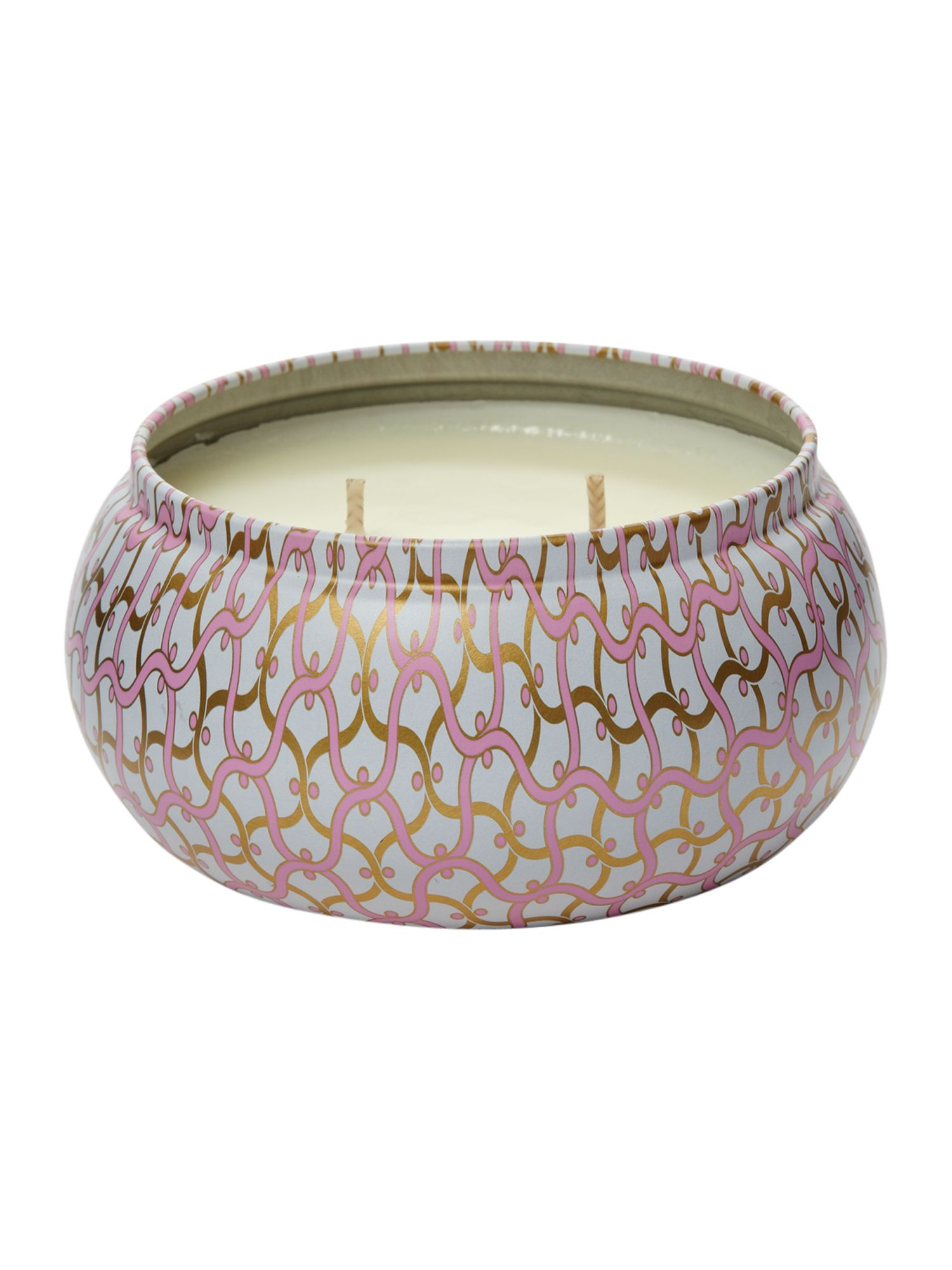 Pink citron 11oz tin candle