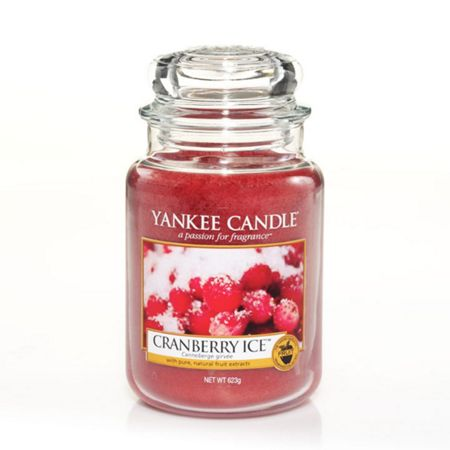 Yankee Candle Classic large jar cranberry ice