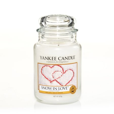Yankee Candle Classic large jar snow in love