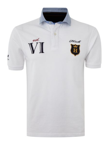 Howick Colonial club short sleeved pique polo