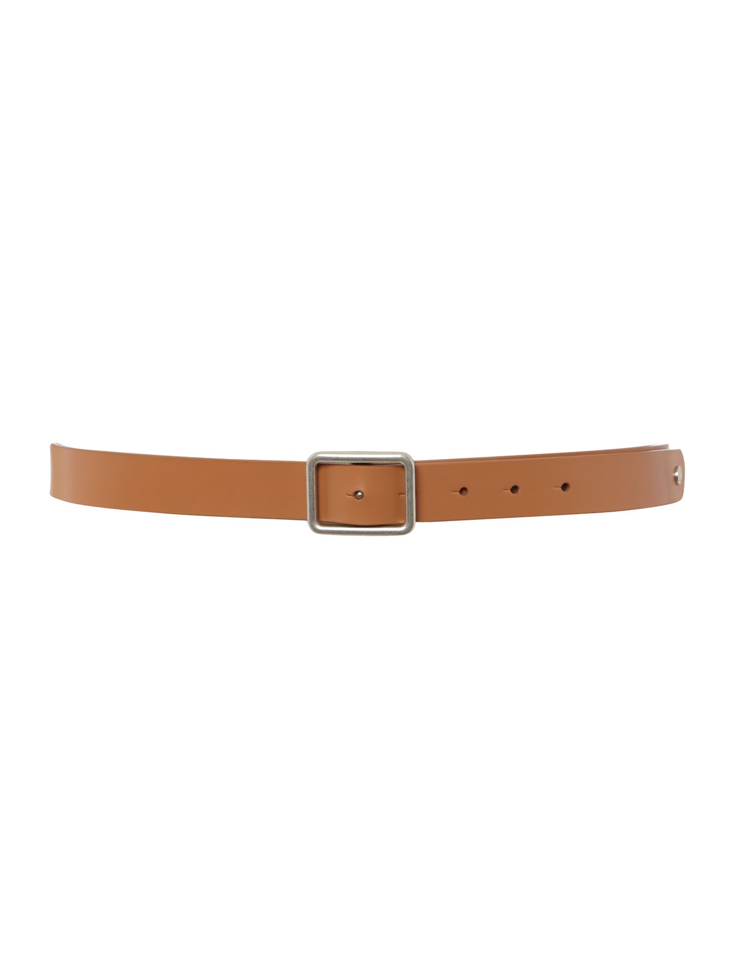 Buckley saddle leather belt