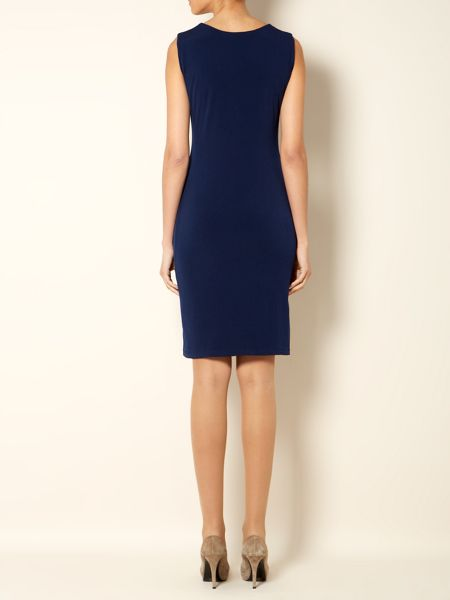 The Department Sleeveless ruch front dress