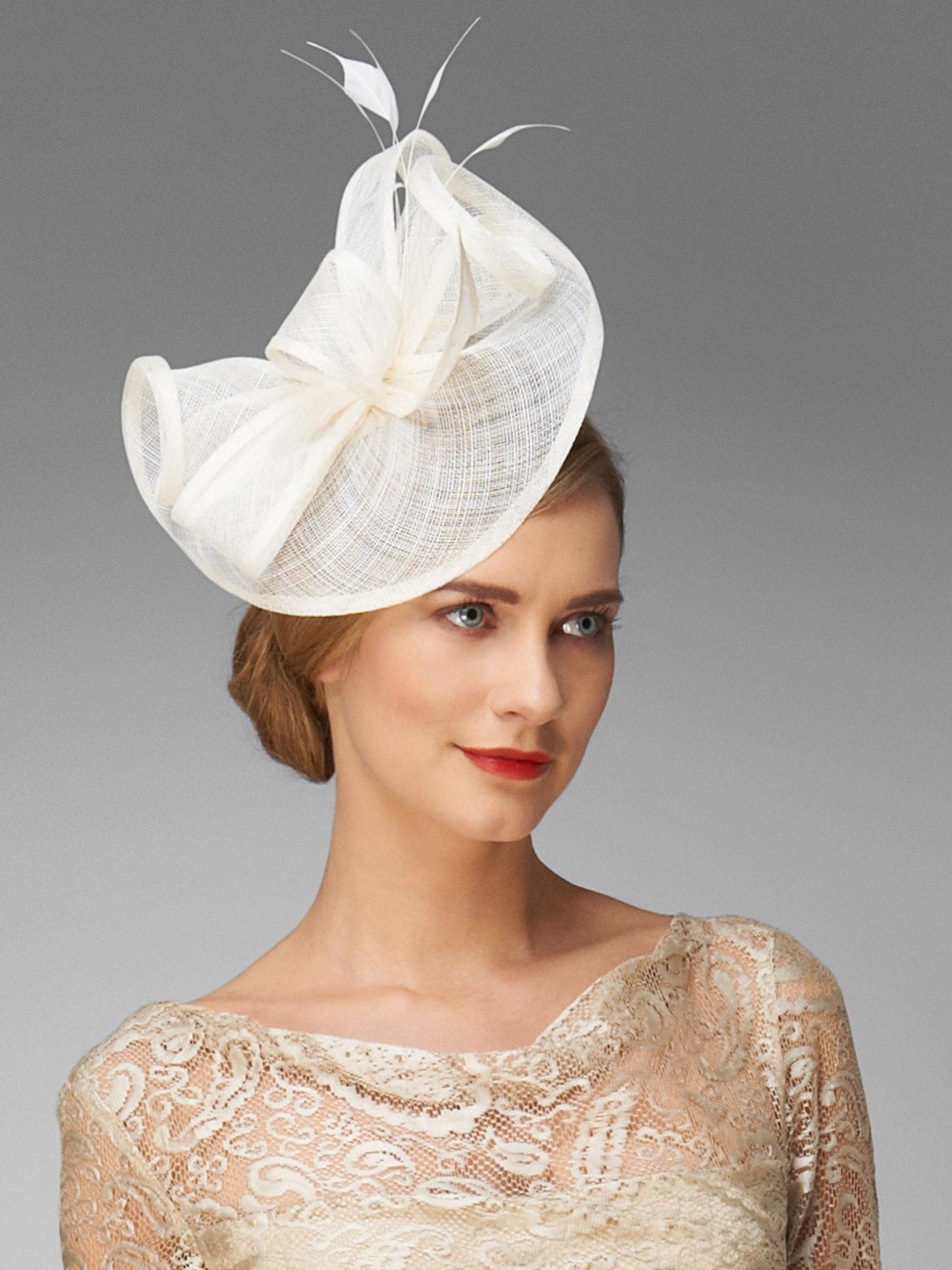 Ella stem fascinator