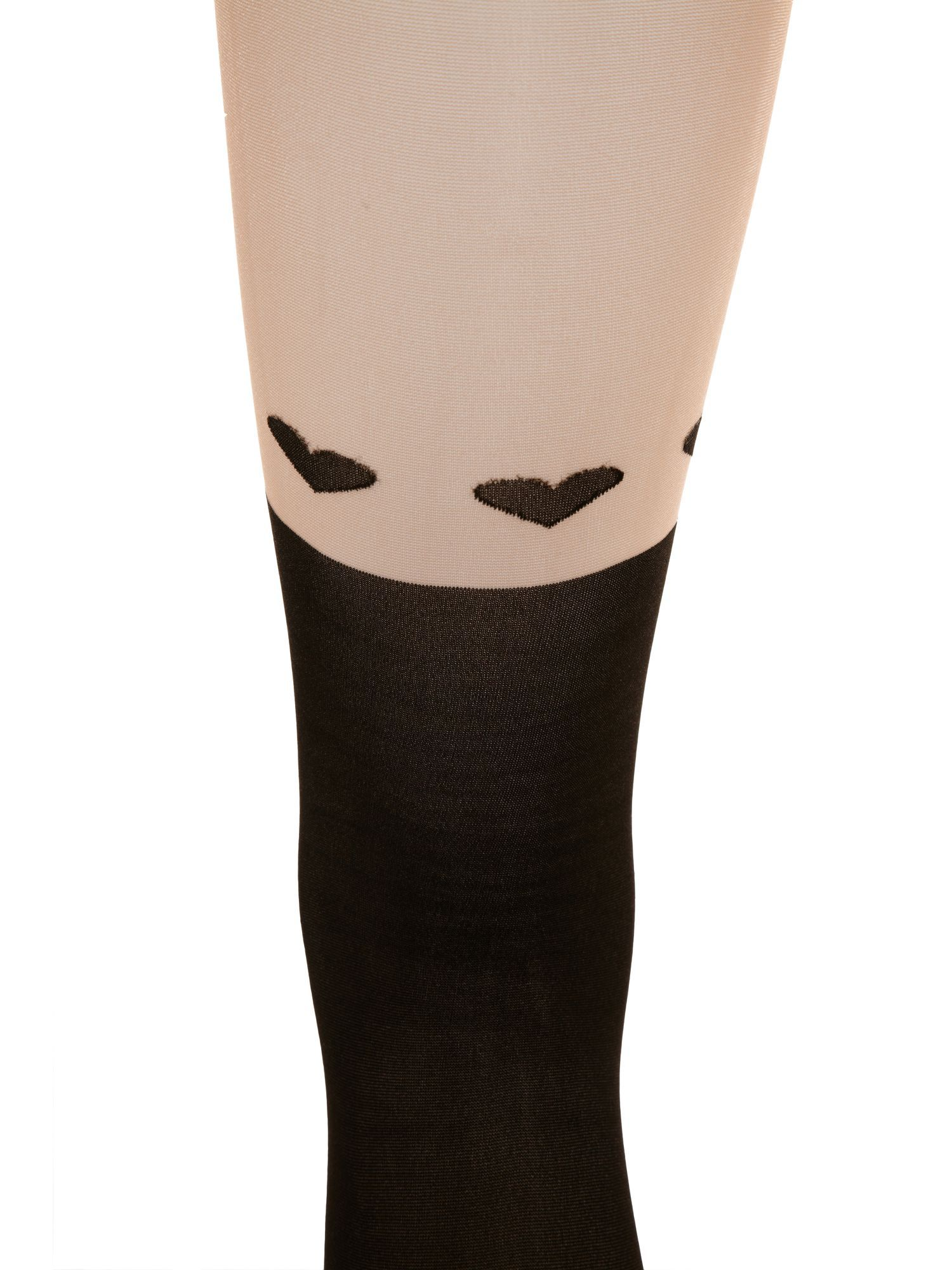 Over the knee heart tights.