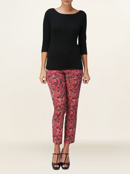 Phase Eight Ally paisley trousers