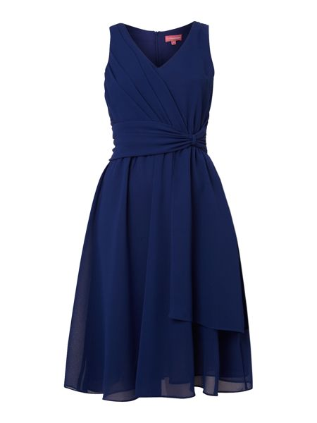The Department Woven wrap front dress