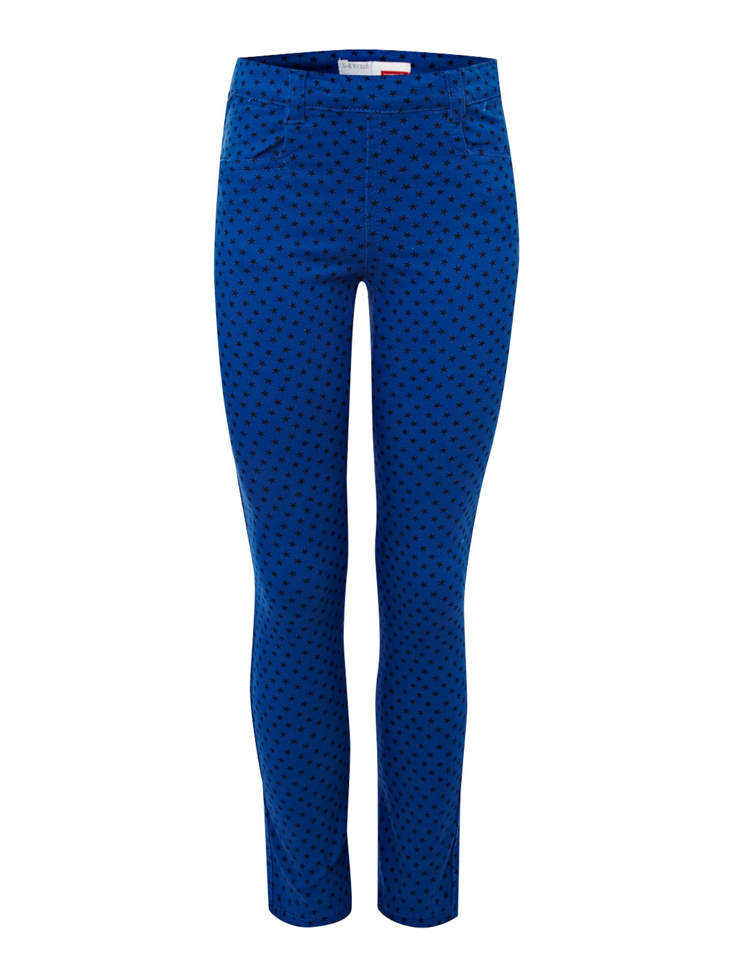 Girl`s leggings with star print
