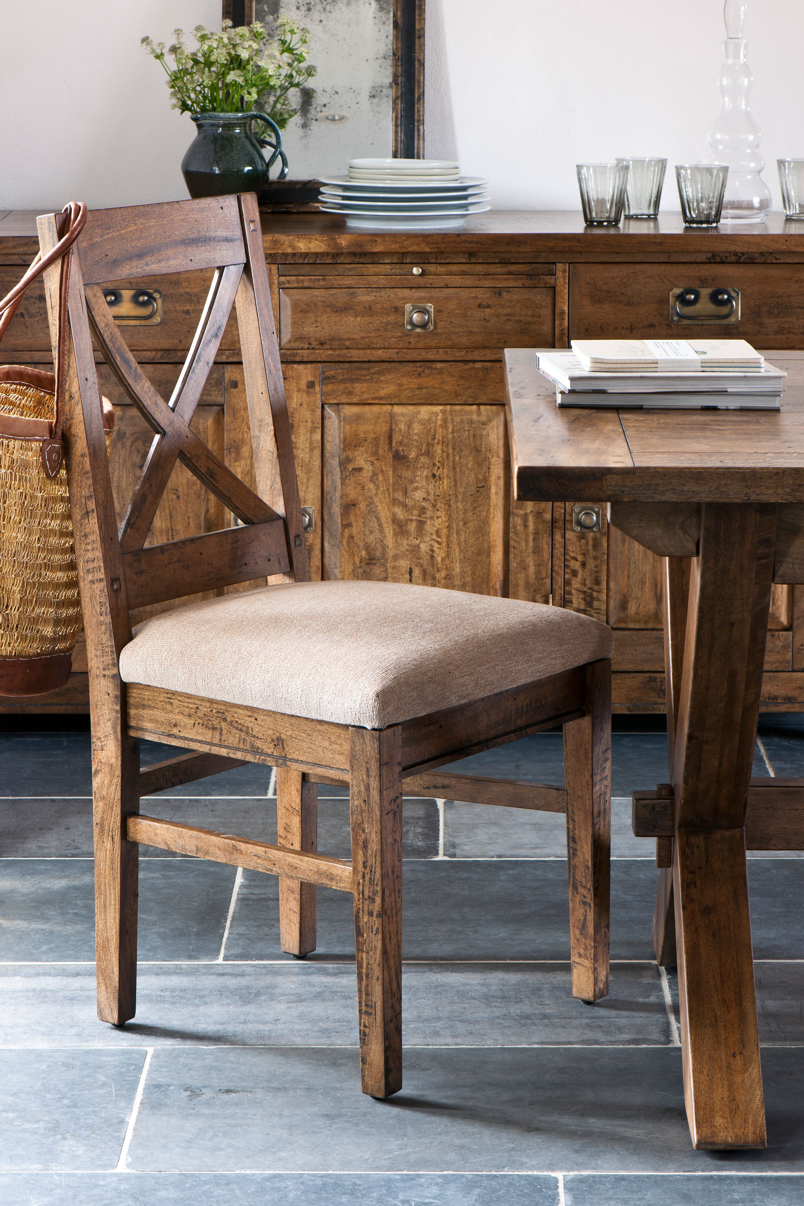 Marlborough dining chair pair