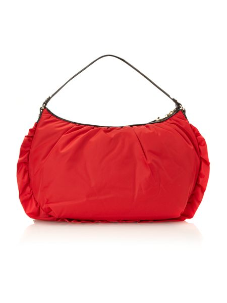 Love Moschino I love rouches hobo bag