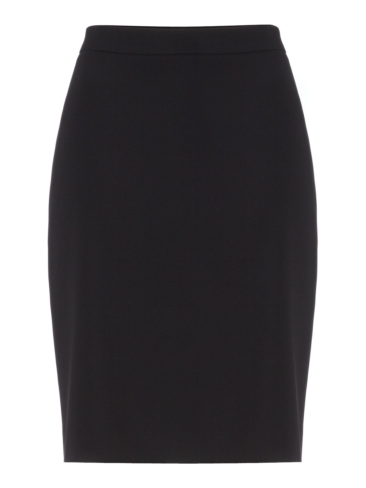 Double zip pencil skirt