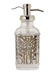 Biba Glass soap dispenser