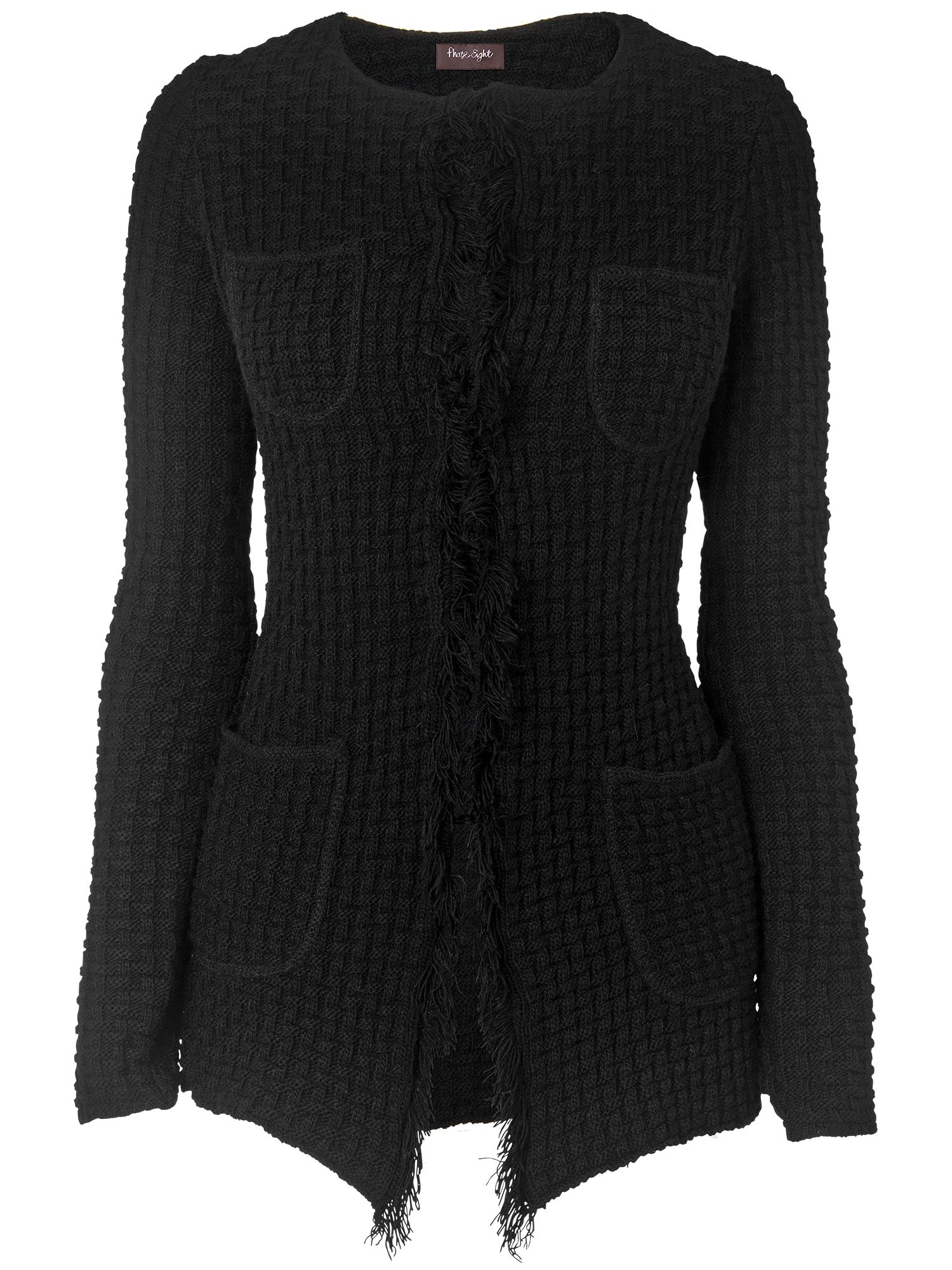 Nel long knitted cardigan