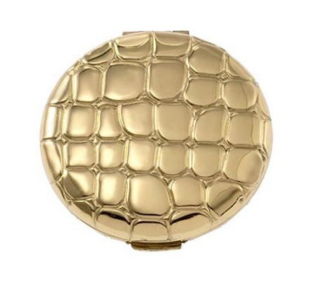 Estée Lauder Slim Alligator Metal Compact