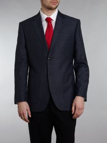 Howick Tailored Donovan patch pocket blazer with linen