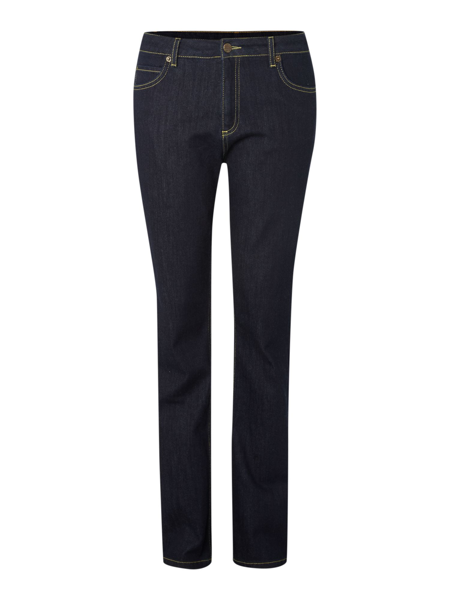 High waisted straight leg Kiri jeans