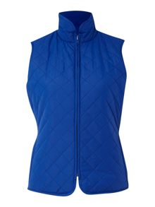 Reversible quilted gilet