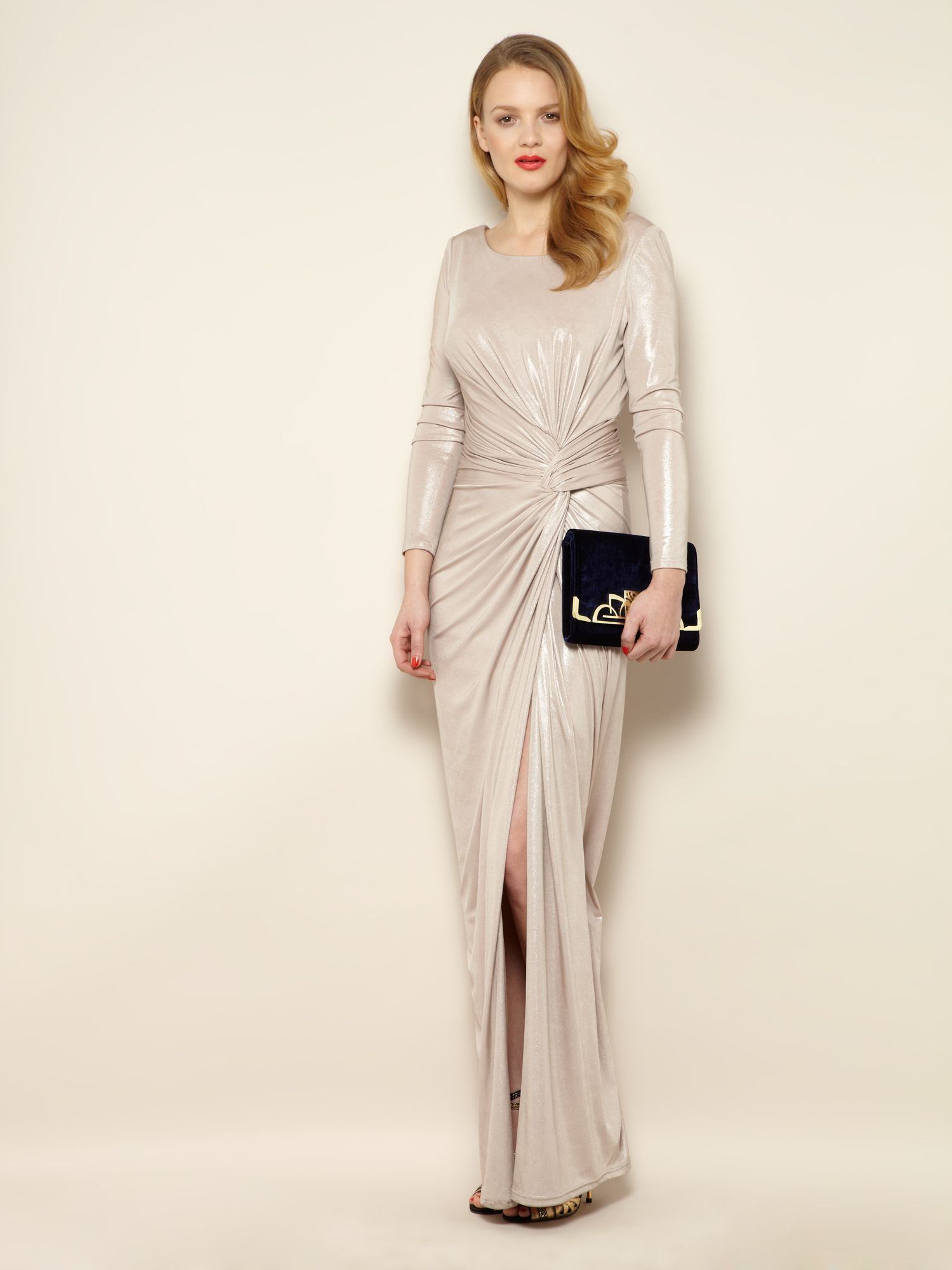 Mirren long sleeve maxi dress