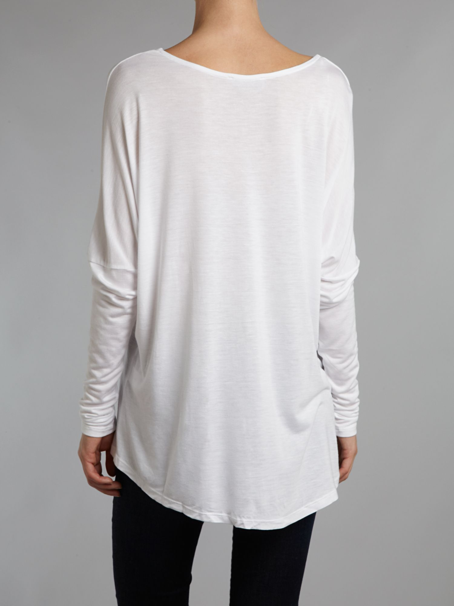 Slouch pocket tee