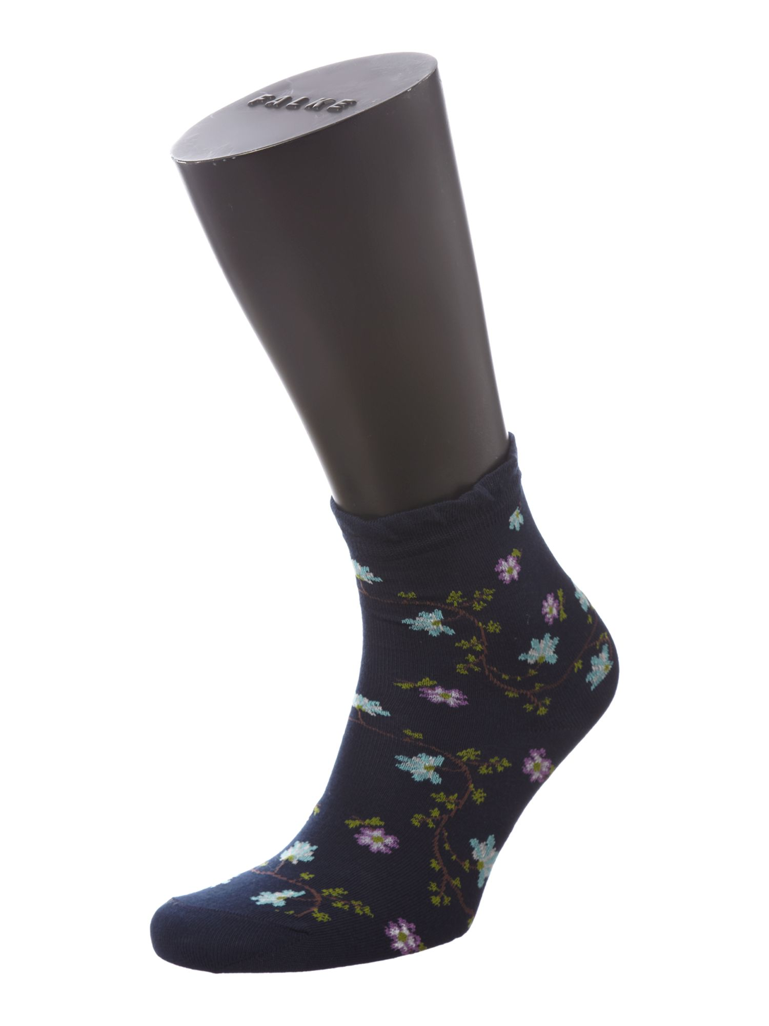 Fine flower socks
