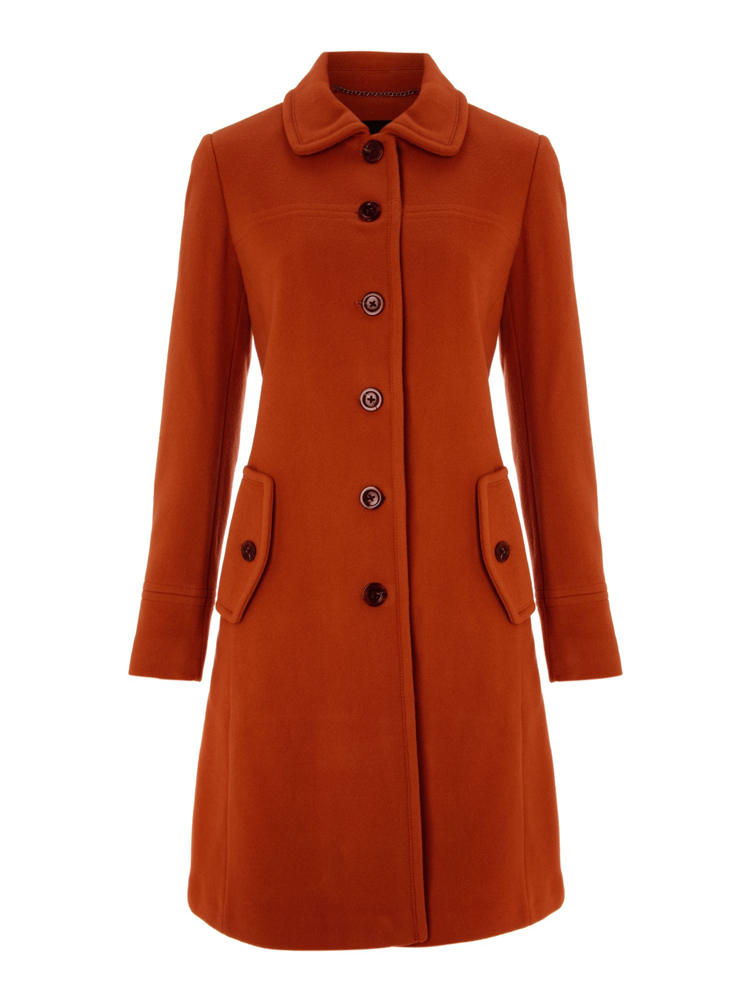 Luxe wool coat
