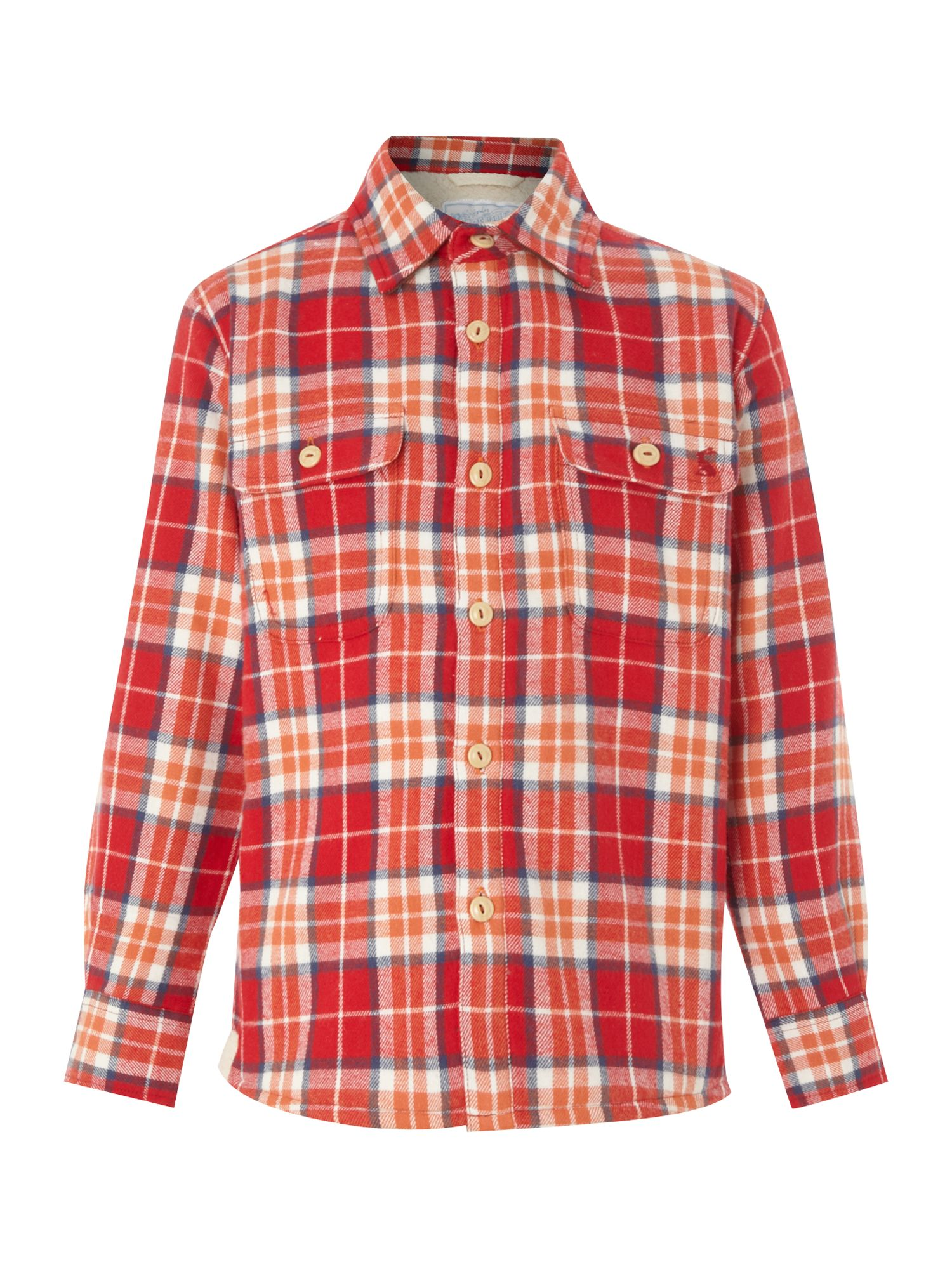 Boy`s farnworth checked shirt