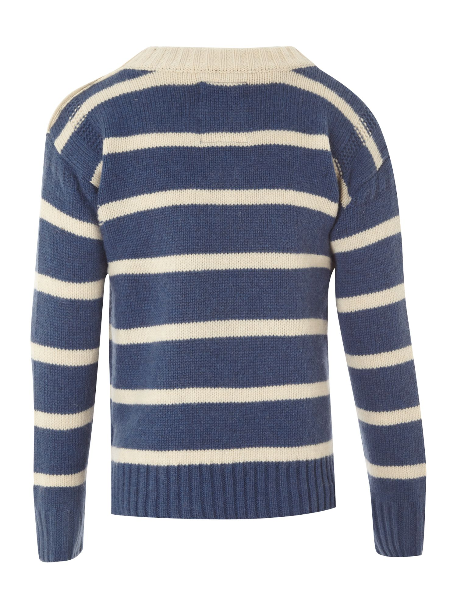 Boy`s bayton stripe jumper