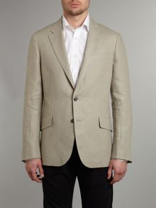 Taupe linen jacket