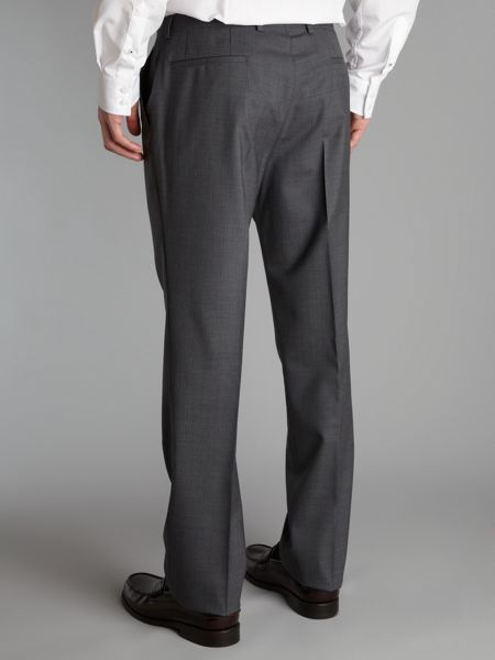 Kenneth Cole Ace shadow stripe suit trouser