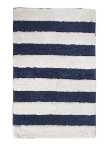 Linea Nautical Stripe Bath Mat