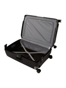 Samsonite S`Cure black 8 wheel 75cm large suitcase