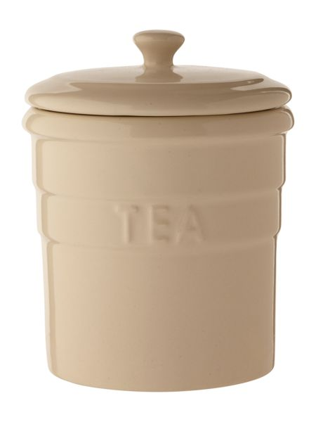 Linea Maison tea jar, cream