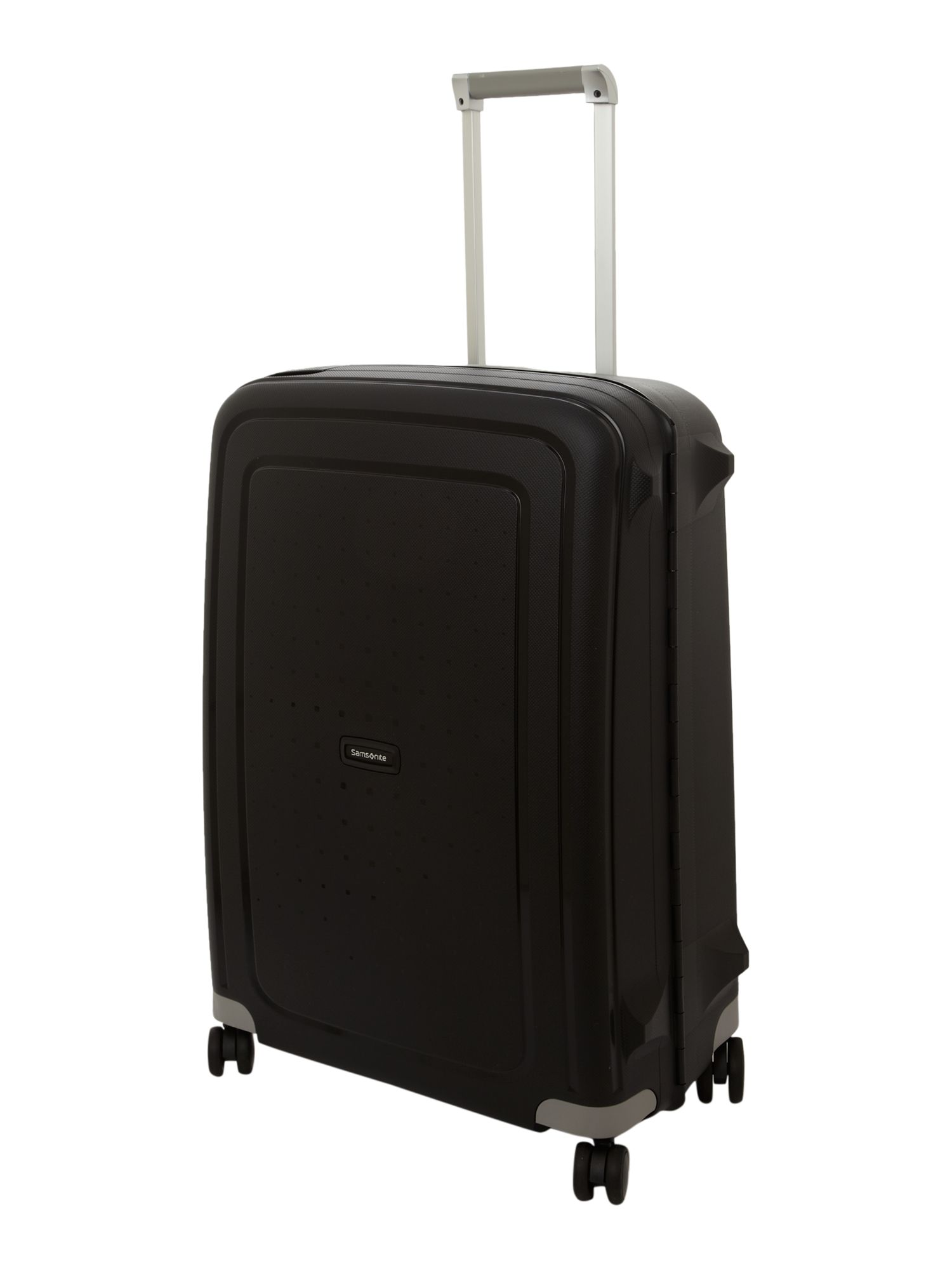 Samsonite S`Cure black 8 wheel 69cm medium suitcase Black