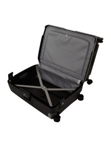 Samsonite S`Cure black 8 wheel 69cm medium suitcase