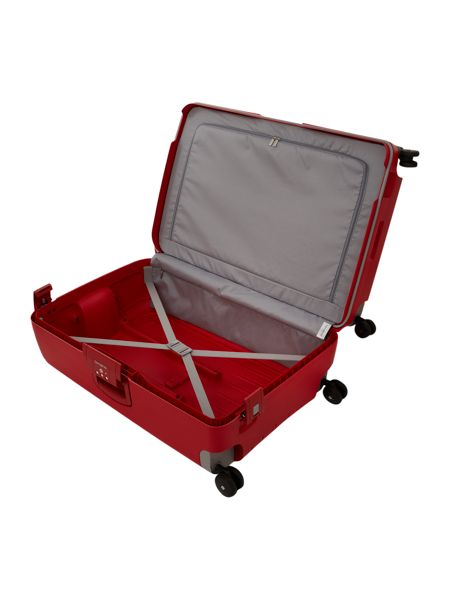 Samsonite S-Cure red 4 wheel large case