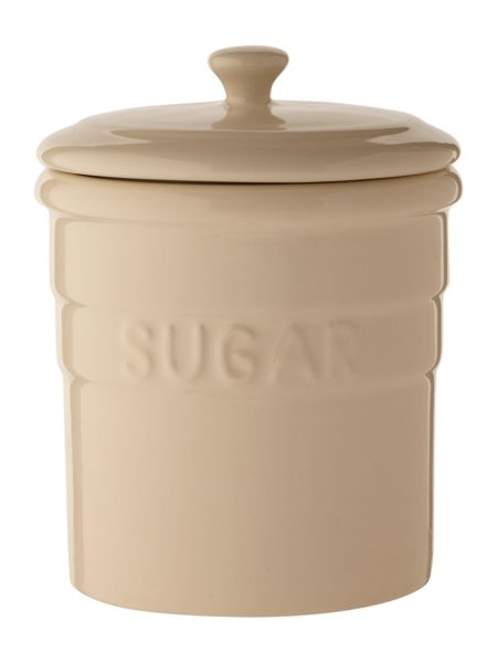 Linea Maison sugar jar, cream