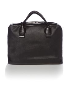 Saffiano large bowling bag