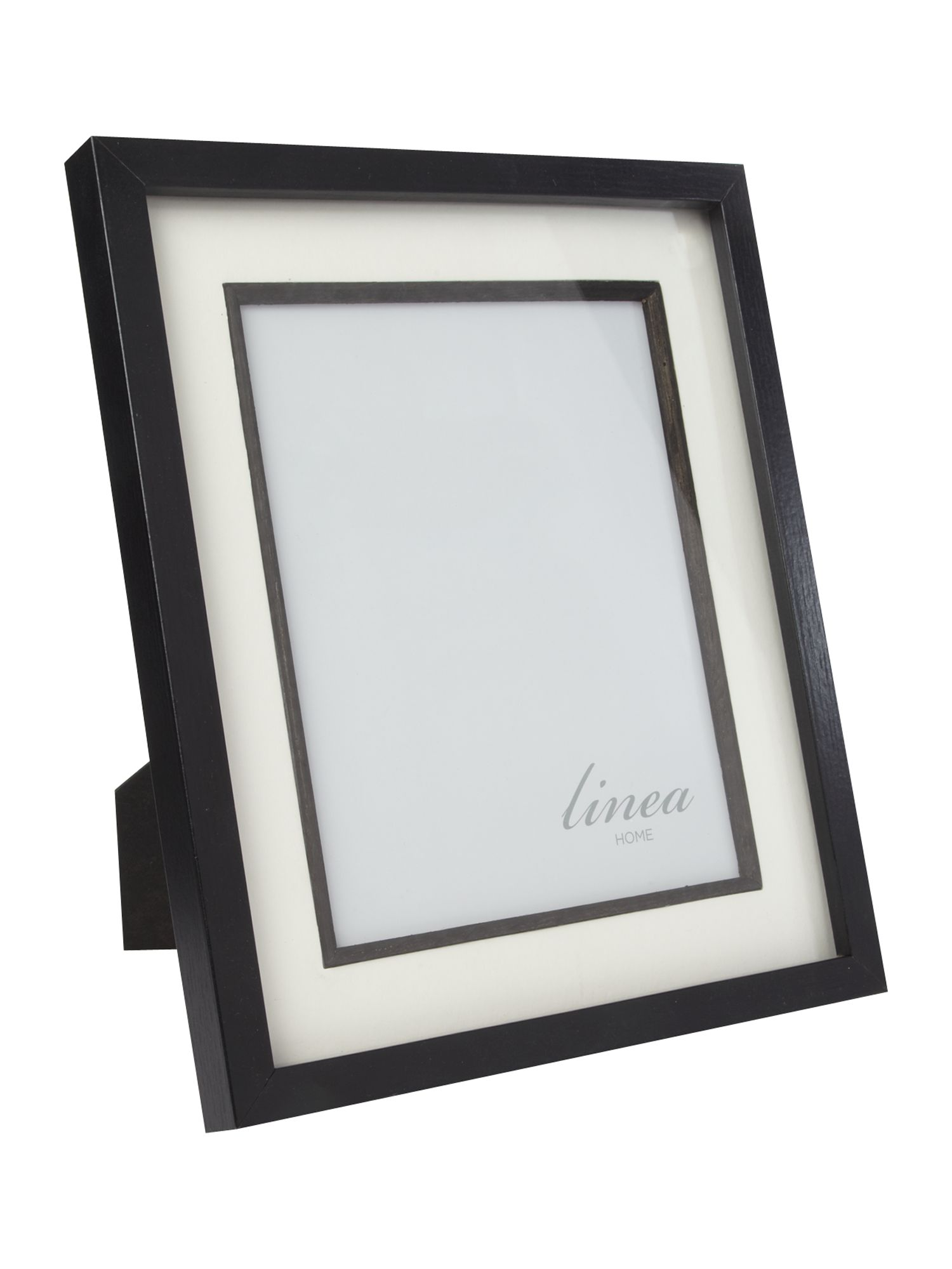 Black wood photo frame 8x10